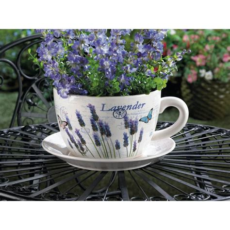 Teacup Planters by Lavender Teacup Planter