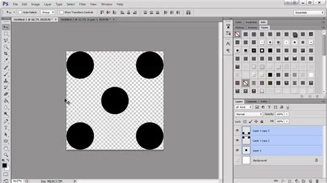 pattern making in photoshop making a polka dot pattern in photoshop youtube