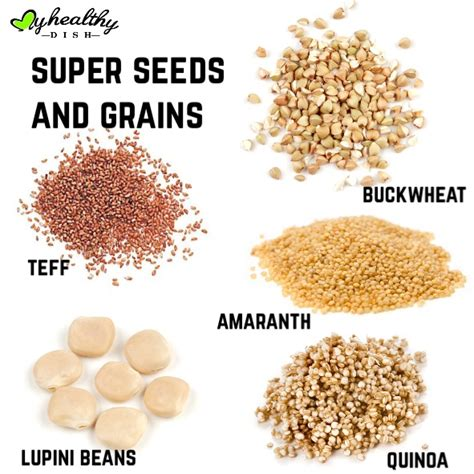 whole grains and health seeds and grains to boost your health my healthy dish