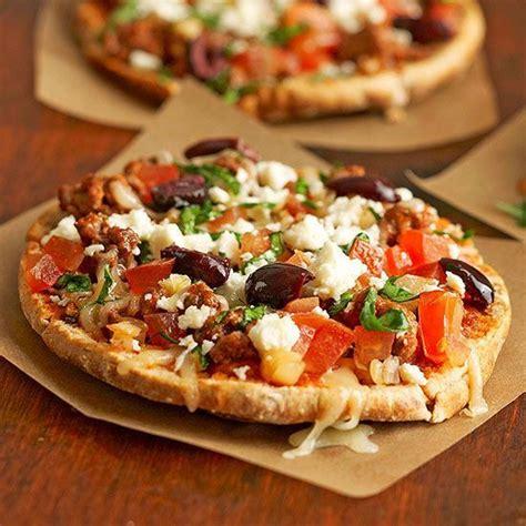 pizza recipes whole wheat pita bread and healthy pizza recipes on pinterest