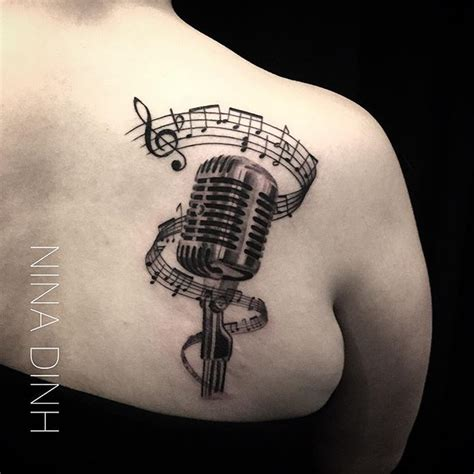microphone tattoo pinterest best 25 microphone tattoo ideas on pinterest mic tattoo