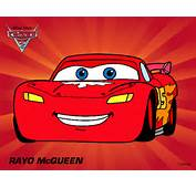 Dibujo De Cars 2  Rayo McQueen Pintado Por Sinaiv En Dibujosnet El