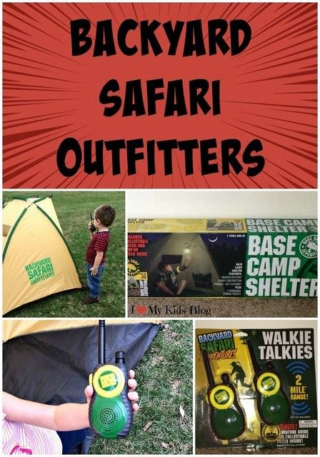 backyard safari outfitters backyard safari outfitters for explorers