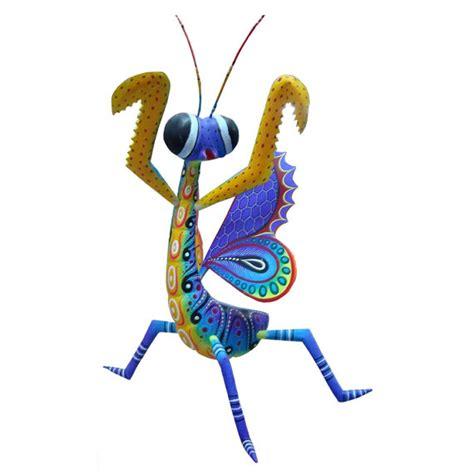 mantide religiosa porta fortuna wooden sculptures mantis mexican folk animal woodworking