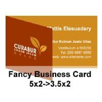 3 5x2 Business Card Template Free by Fancy Business Card 5x2 Gt 3 5x2 Fold Business Cards