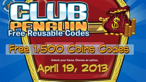 doodle club free coin codes free club penguin coin codes april 19 2013
