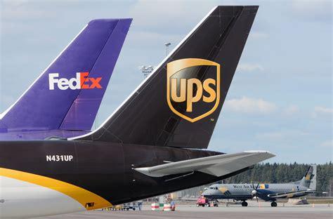 york ups fedex cap air express deliveries
