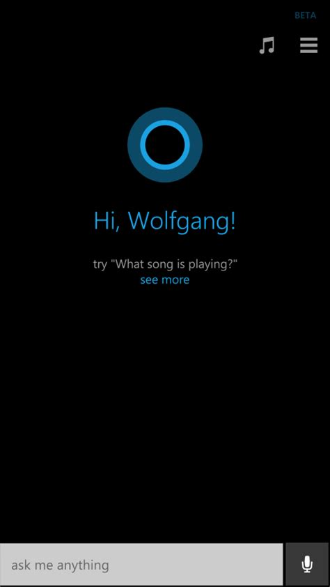 sing your favorite song cortana hi cortana what is how to control windows 10 with your