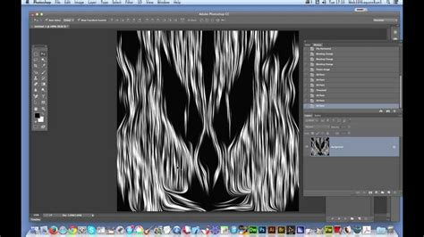 use pattern photoshop cc swirly woodcut design in photoshop cc tutorial using a