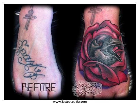 name cover up tattoo ideas tattoo cover up designs for names 4