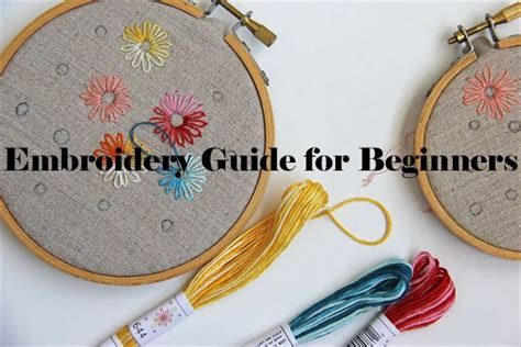embroidery for beginners the 25 best diy embroidery for beginners ideas on