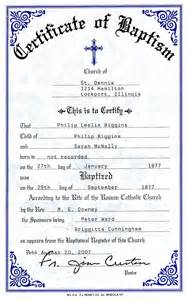 catholic baptism certificate template catholic baptismal certificate new calendar template site