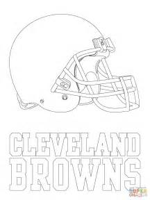 Cleveland Browns Coloring Pages cleveland browns logo coloring page free printable coloring pages