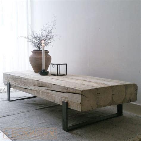 salontafel hout wit combinatie salontafel solid is een industri 235 le salontafel met een