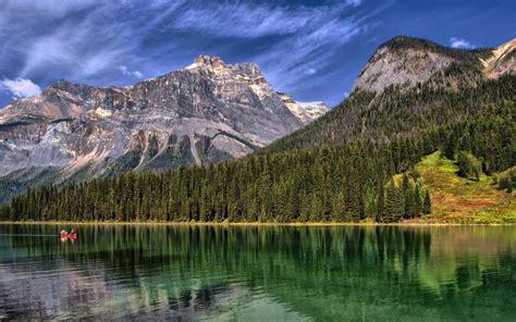 hd emerald lake yoho national park british columbia
