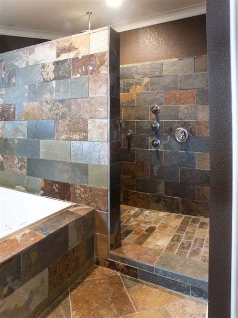 slate tile shower slate tile shower future house