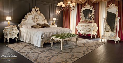 clasic bedroom classic bedroom venezia style with floral carves and