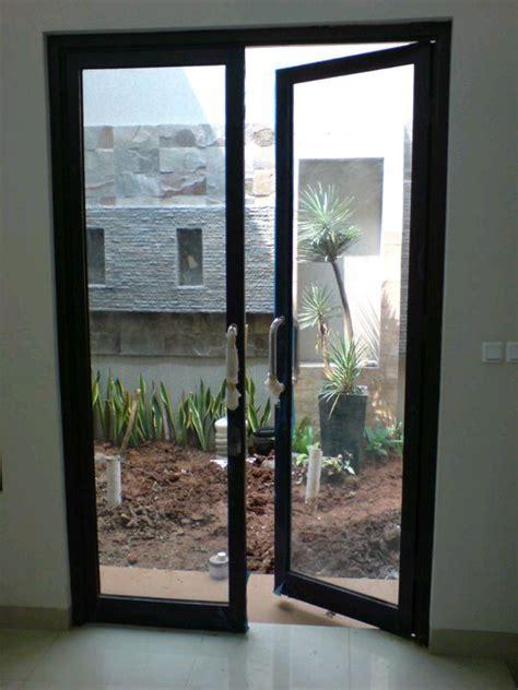 Pintu Sliding Kaca Di Tangerang pintu swing aluminium informasi harga jual kusen