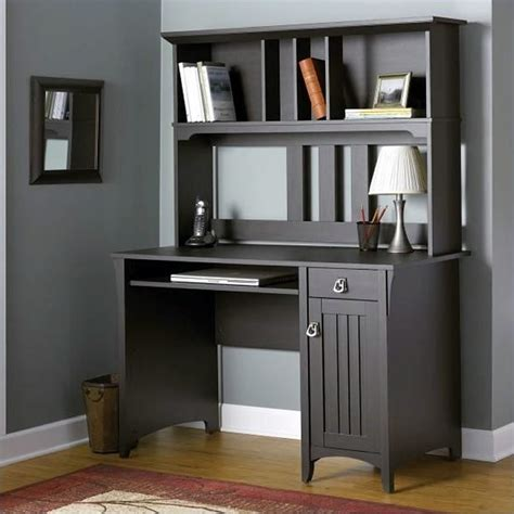 Bush Furniture Salinas Mission W Hutch Computer Desk Ebay Mission Style Desk With Hutch