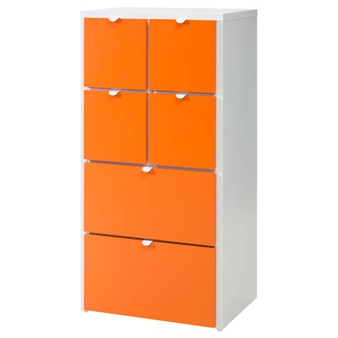 www ikea usa com visthus chest of 6 drawers white orange 63x126 cm ikea