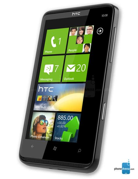 themes for htc t mobile htc hd7 specs