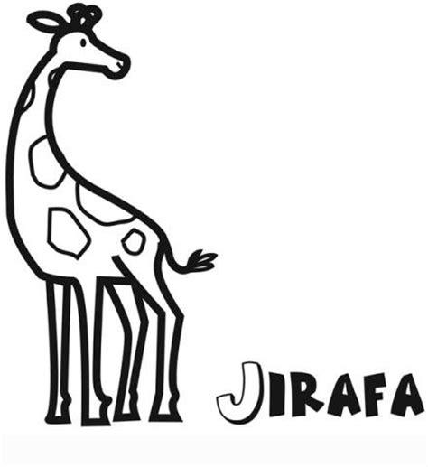 dibujos infantiles para colorear de jirafas imprimir dibujo infantil de jirafa para colorear dibujos