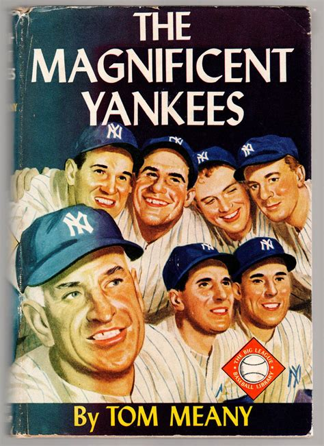 the magnificent yankees by tom meany hardcover 1952