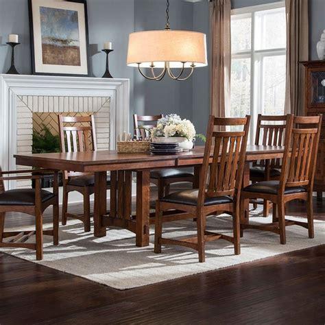 park dining table oak park rectangular dining table intercon furniture