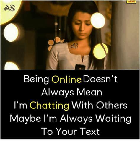 doesnt   im chatting