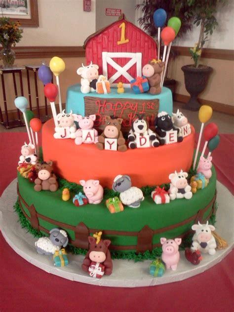 barnyard cake cakecentralcom