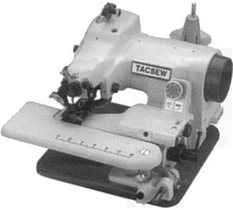 Reliable Blind Hemmer Tacsew T500 Blind Stitch Hemmer Portable Sewing Machines