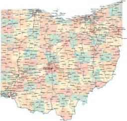 Ohio Maps by Map Of Ohio A Source For All Kinds Of Maps Of Ohio