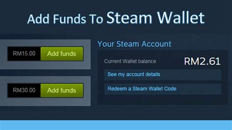 How To Add Money To Steam Wallet With Gift Card - how to add funds to steam wallet from steam account youtube