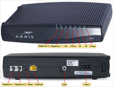 Ds Light Blinking On Arris Modem by About The Led Indicators On Your Xfinity Voice Modem