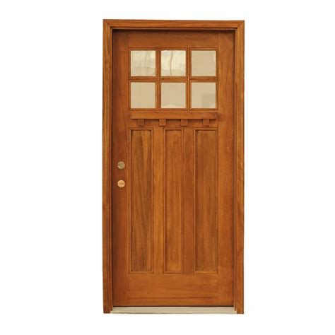 Mahogany Front Door With Glass by Carrick Exterior Mahogany Glass Doors Craftsmen Collection