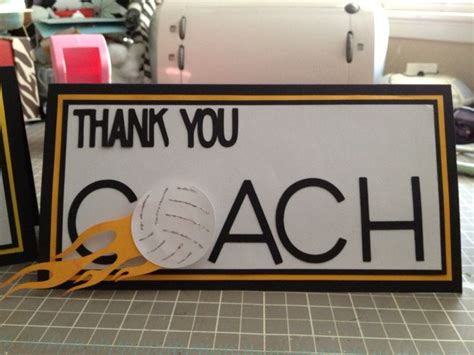 printable volleyball thank you cards thank you card i made for the volleyball coach from the