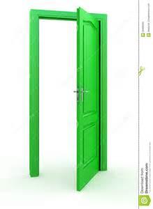 green door stock photography image 28439332