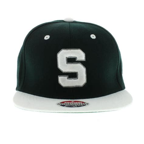 michigan state spartans the apex snapback team colors by