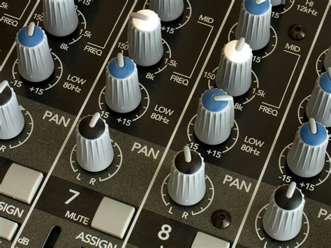 Soundboard Knobs by All Modern Technologies Bio Policies Page Live Audio