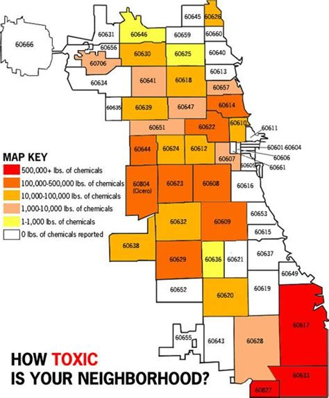 chicago map with zip codes chicago pollution map by zip code maps