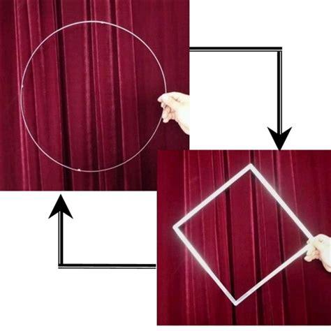 Sulap Squaring The Circle To Squaring The Circle Circle To Square Beginners Magic