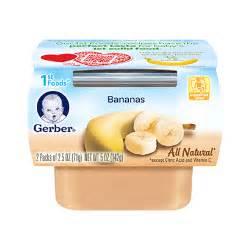 1st foods 174 bananas gerber
