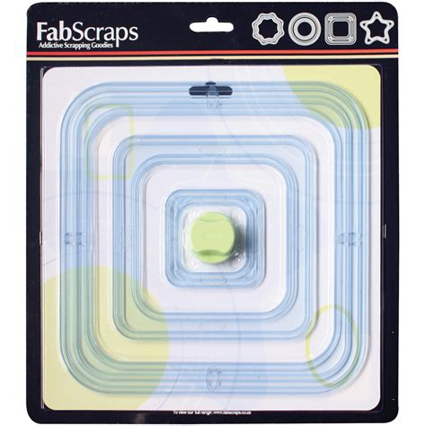 Mat Frame Sizes by Fabscraps Mat Frame Cutter With 6 Sizes Of Templates