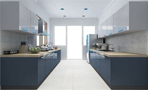 Parallel Kitchen Design Casa Bilancio Cbp 104 Parallel Shape Modular Kitchen In