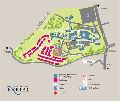 Penryn Campus map   University of Exeter