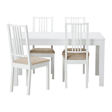 sedie e tavoli ikea bjursta b 214 rje tavolo e 4 sedie ikea