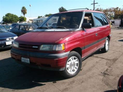 books on how cars work 1992 mazda mpv instrument cluster buy used 1992 mazda mpv no reserve in orange california united states