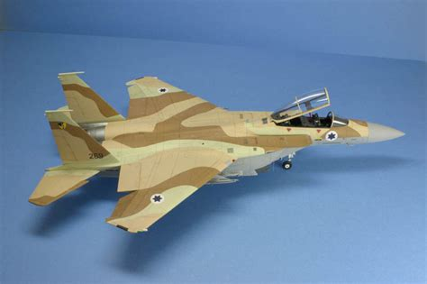 Painting F 15 Model by Converting Revell S 1 48 F 15e Into An Israeli F 15i