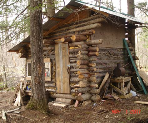 log cabin  steps