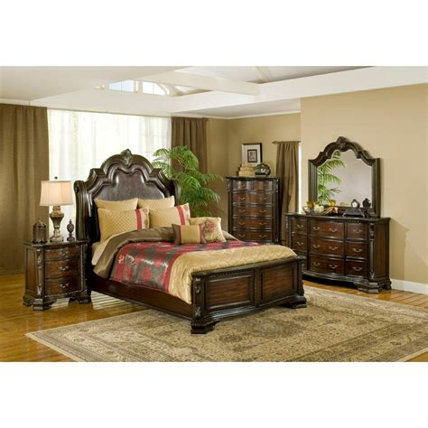 alexandria bedroom bed dresser mirror b1100